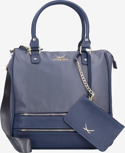 SANSIBAR Handtasche in blue denim, Produktansicht