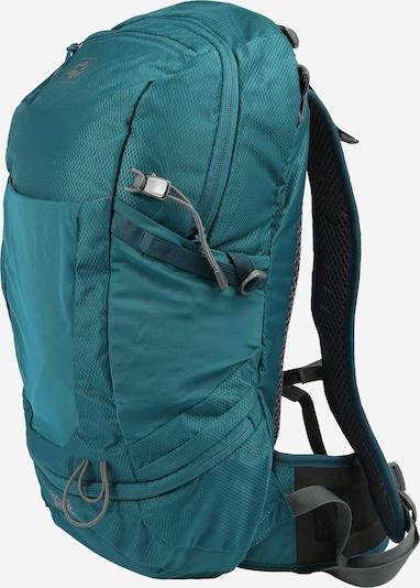 JACK WOLFSKIN Sportrugzak in de kleur Turquoise / Grijs, Productweergave