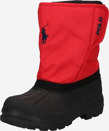 Bottes de neige 'HARPYR' Polo Ralph Lauren en rouge