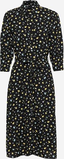Dorothy Perkins Blousejurk in de kleur Lichtblauw / Geel / Olijfgroen / Zwart, Productweergave