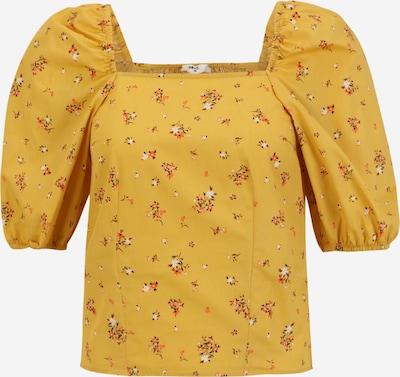 OBJECT Petite Shirt 'ROSE' in gelb / mischfarben, Produktansicht
