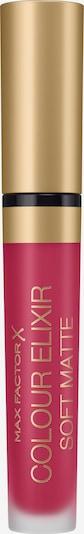 MAX FACTOR Lippenstift 'Colour Elixir Soft Matte' in dunkelpink, Produktansicht