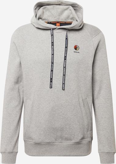 RÆBURN Sweat-shirt en gris, Vue avec produit