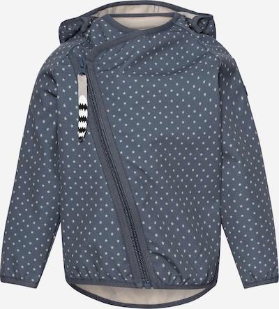 Racoon Outdoor Functionele jas 'Niel' in de kleur Sand / Indigo, Productweergave