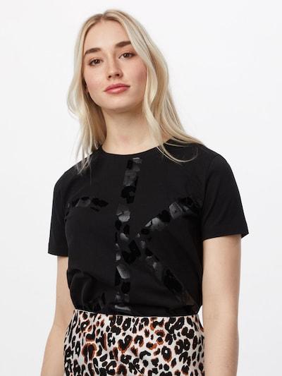 Calvin Klein Shirt in schwarz: Frontalansicht