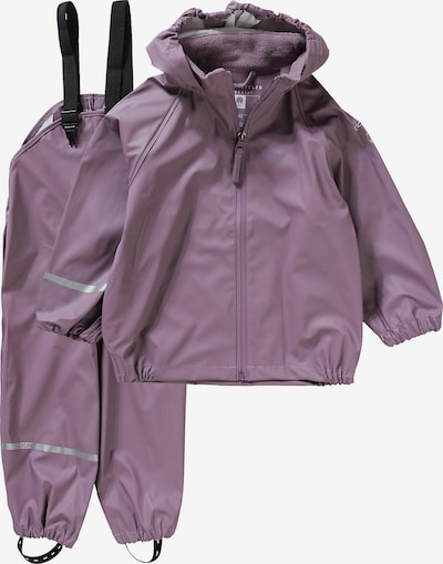 CELAVI Regenanzug in lila, Produktansicht