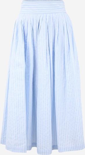 Y.A.S (Tall) Rok in de kleur Lichtblauw / Wit, Productweergave