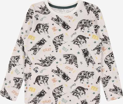 NAME IT Koszulka 'Sacoony' w kolorze pastelowy niebieski / żółty / szary / ciemnoszary / białym, Podgląd produktu