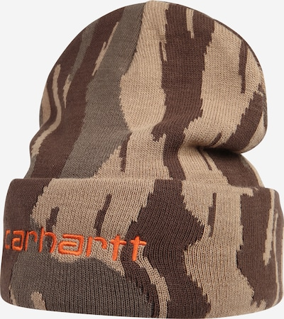 Carhartt WIP Mütze in beige / braun / grau, Produktansicht