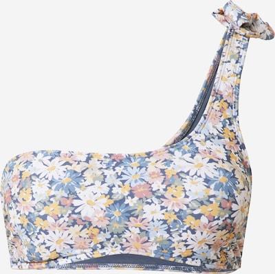 Abercrombie & Fitch Bikinitop in de kleur Smoky blue / Lichtblauw / Donkerblauw / Geel / Rosé, Productweergave