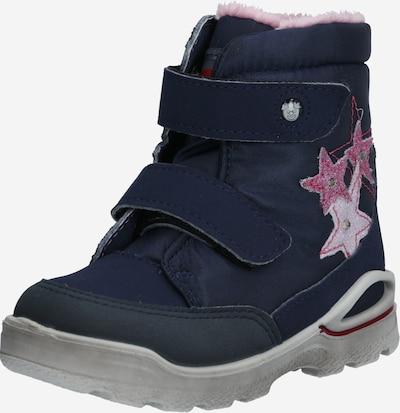 Pepino Winterstiefel 'Maddy' in nachtblau / pink, Produktansicht