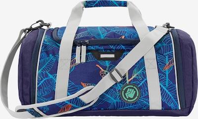 Coocazoo Tasche in blau / dunkellila / weiß, Produktansicht