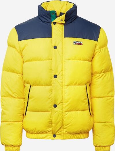 Tommy Jeans Zimná bunda - modrá / žltá, Produkt