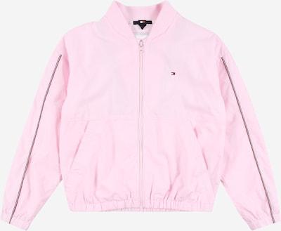TOMMY HILFIGER Kurtka przejściowa 'ESSENTIAL' w kolorze granatowy / różowy pudrowy / jasnoczerwony / białym, Podgląd produktu
