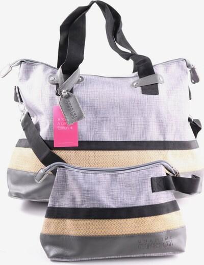 Georges Rech Stofftasche in One Size in hellgrau / schwarz / wollweiß, Produktansicht