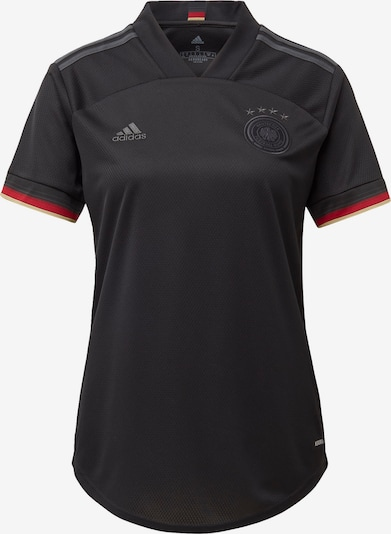 ADIDAS PERFORMANCE Trikot 'DFB Away EM 2021' in goldgelb / rot / schwarz: Frontalansicht