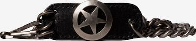 JP1880 Schlüsselanhänger in grau / silber, Produktansicht