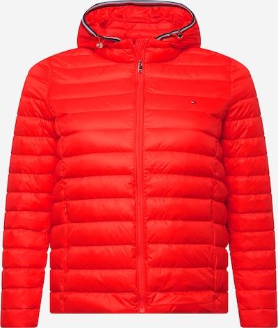 Tommy Hilfiger Curve Jacke in navy / rot / orangerot / weiß, Produktansicht