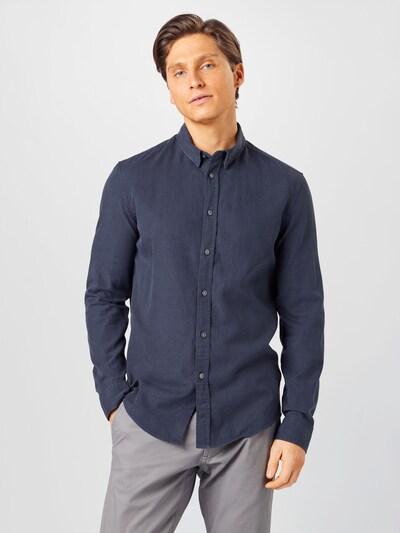 DRYKORN Poslovna košulja 'LOKEN' u mornarsko plava: Prednji pogled