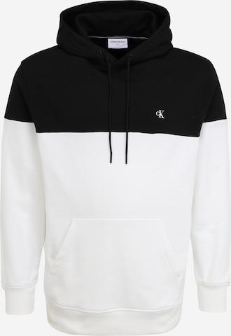 Calvin Klein Jeans Plus Dressipluus, värv valge