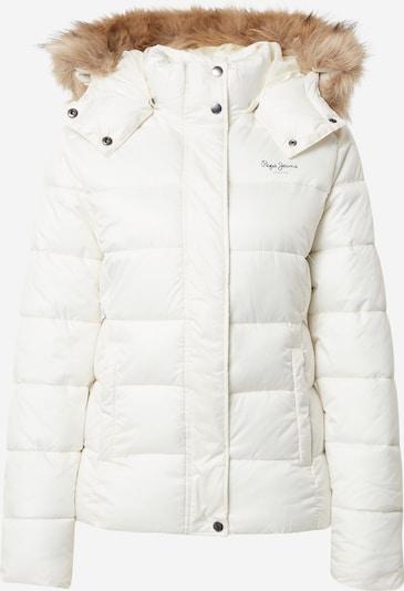 Pepe Jeans Zimska jakna 'JUNE' | bela barva, Prikaz izdelka