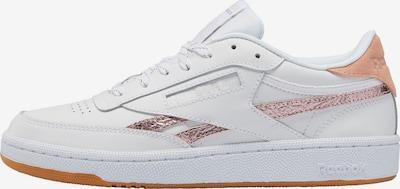 Reebok Classic Sneaker 'Club C 85' in rosegold / altrosa / weiß, Produktansicht