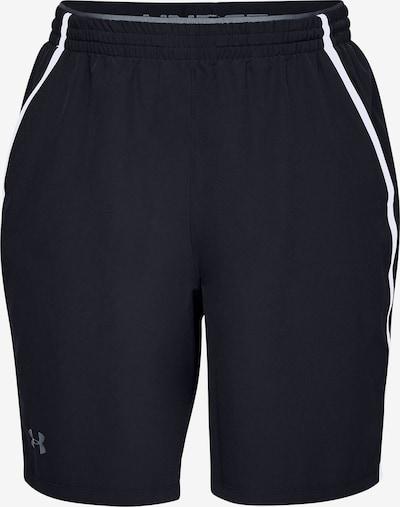UNDER ARMOUR Shorts ' Qualifier ' in schwarz, Produktansicht