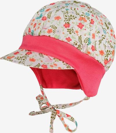 MAXIMO Bonnet 'BABY GIRL-Ballonmütze' en mélange de couleurs, Vue avec produit