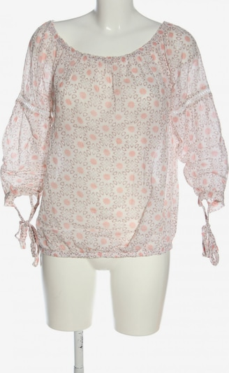 Darling Carmen-Bluse in M in braun / wollweiß, Produktansicht
