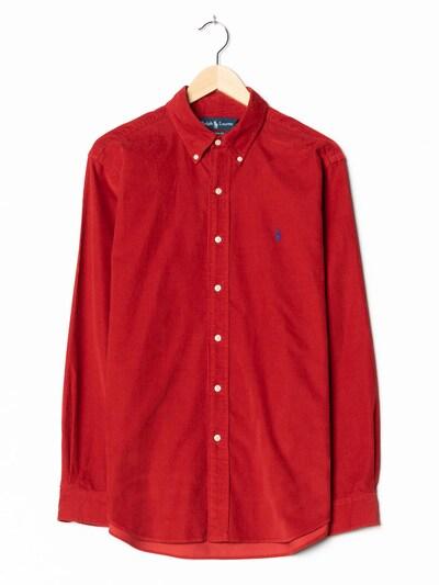 Ralph Lauren Cordhemd in L-XL in rot, Produktansicht