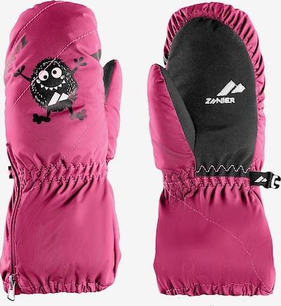 Zanier Handschuhe in pink / schwarz, Produktansicht