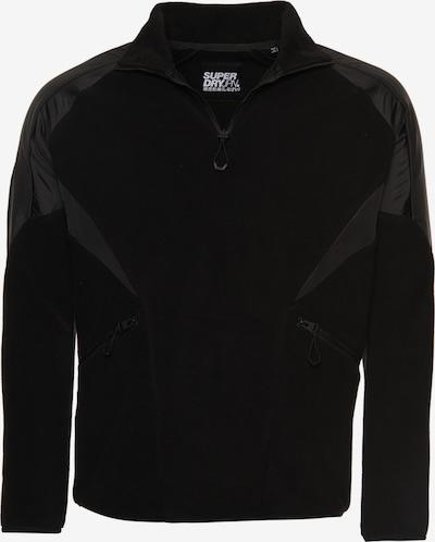 Superdry Fleece jas in de kleur Zwart, Productweergave