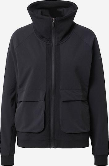 Reebok Sport Veste de sport en gris argenté / noir, Vue avec produit