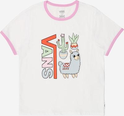 VANS T-Shirt in mischfarben / weiß, Produktansicht