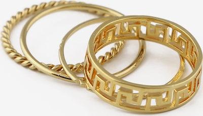 Orelia Bague 'Grecian' en or, Vue avec produit