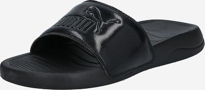PUMA Badeschuh 'Popcat' in schwarz, Produktansicht