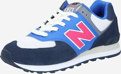 new balance Sneakers laag 'ML574' in de kleur Blauw / Navy / Pink / Wit, Productweergave