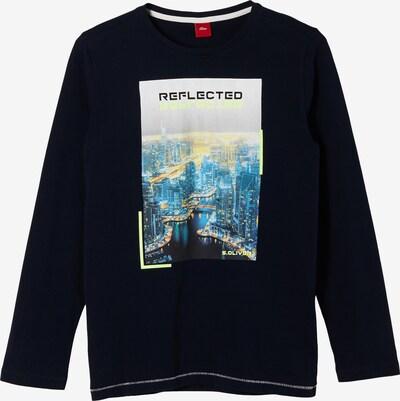 s.Oliver T-Shirt in dunkelblau / mischfarben, Produktansicht