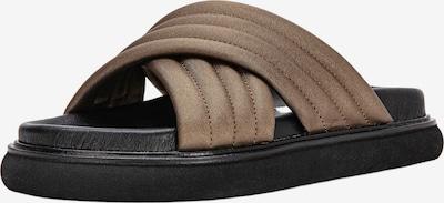 INUOVO Pantolette in bronze / schwarz, Produktansicht