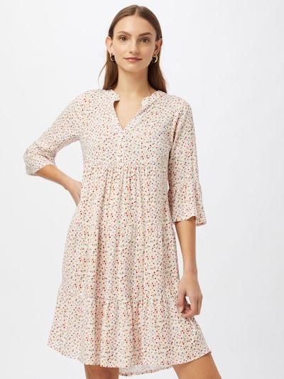 Sublevel Kleid in creme / mischfarben, Modelansicht