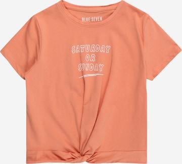 BLUE SEVEN Shirt in Orange