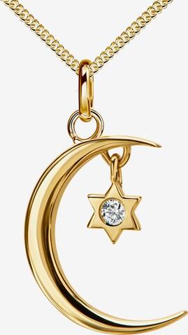 JEVELION Kette Stern in Gold