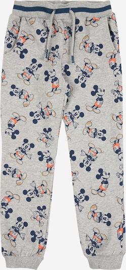 Pantaloni 'Mickey Mettis' NAME IT di colore navy / grigio / arancione pastello / arancione scuro, Visualizzazione prodotti