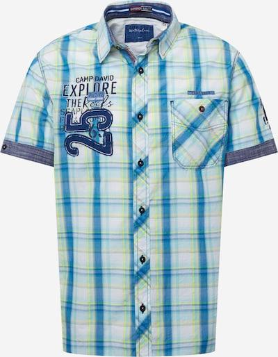 CAMP DAVID Hemd in blau, Produktansicht