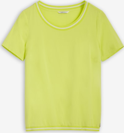 Sandwich T-Shirt in neongelb, Produktansicht