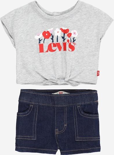 LEVI'S Set en bleu foncé / gris clair / rouge / blanc, Vue avec produit