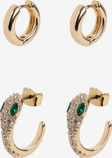 TOSH Jewelry Set in yellow gold / Emerald, Item view