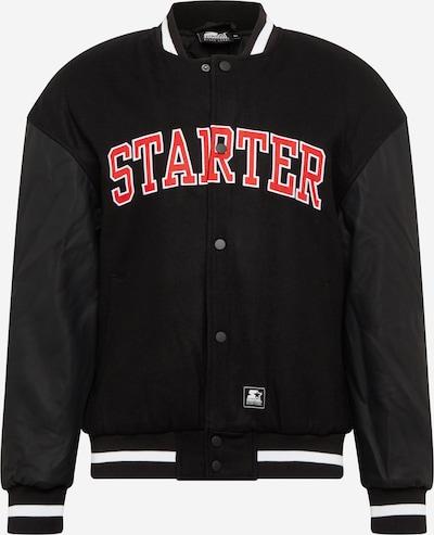 Starter Black Label Jacke in rot / schwarz / weiß, Produktansicht