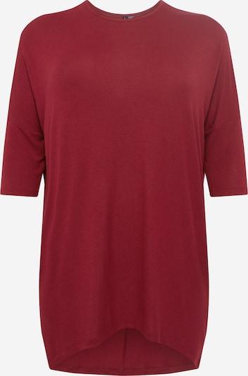 Vero Moda Curve Shirt 'LONIE' in blutrot, Produktansicht