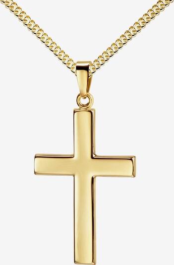 JEVELION Kreuzanhänger 333 Gold + Kette in gold, Produktansicht